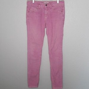 Free People Orchid Pink Colored Skinny Courdorys